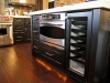 Island oven and wine cooler