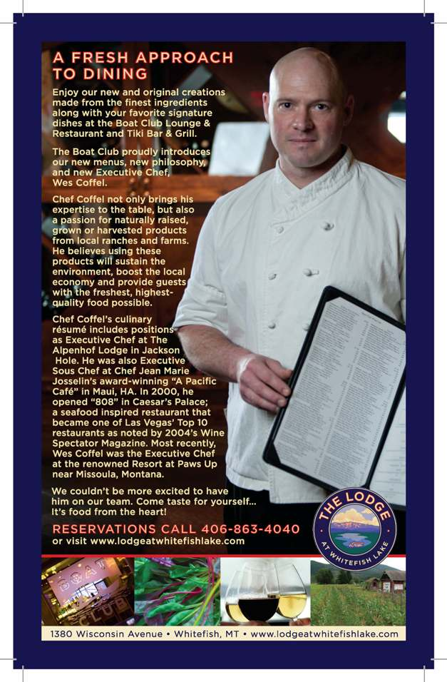 New Executive Chef Wes Coffel