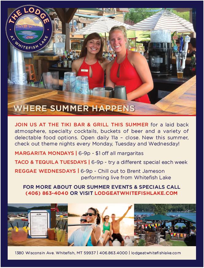 Tiki Bar Specials
